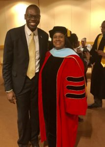 Lt. Governor Garlin Gilchrist II and Dr. Veronica Wilkerson Johnson