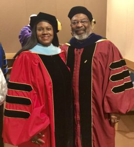 Dr. Veronica Wilkerson Johnson and Dr. Lester P. Monts, Arthur F. Thurnau