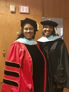 Dr. Veronica Wilkerson Johnson and E. Royster Harper