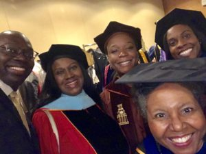 Lt. Governor Garlin Gilchrist II, Dr. Veronica Wilkerson Johnson, Dr. Kedra Ishop, Dr. RaShonda Flint, and Deirdre Spencer