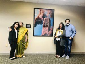 Atharva Kharkar family